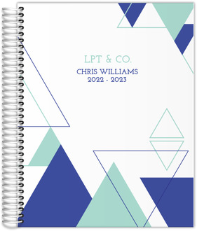 Abstract Triangles Daily Planner