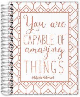 Amazing Things Real Foil Teacher Planner