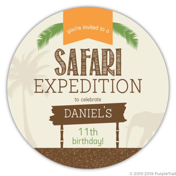 boys jungle safari birthday invitation safari birthday invitations