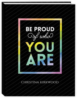 Be Proud Of Who You Are Daily Planner