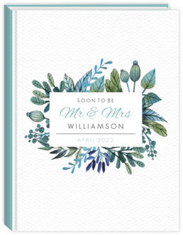 Turquoise Foliage Wedding Planner