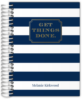 Get Things Done Stripes Daily Planner