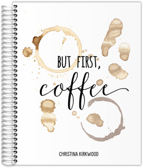 But First Coffee Stain Student Planner