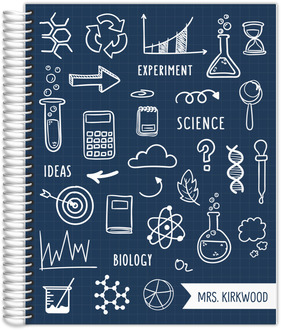 Science Doodles Teacher Planner