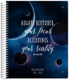Galaxy Constellation Teacher Planner