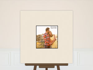 Wedding Guest Book Poster Print
