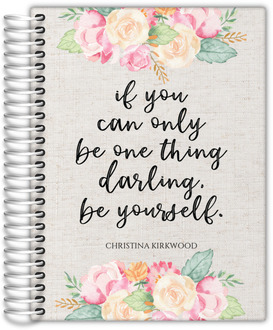 Darling Be Yourself Weekly Planner