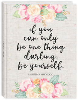 Darling Be Yourself Student Planner