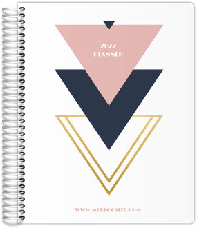 Modern Geometric Triangle Content Planner