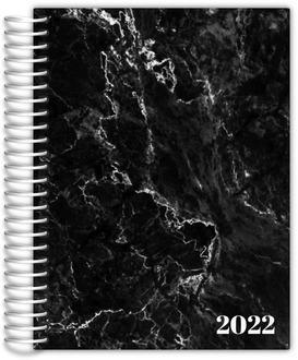Black Marble Teacher Planner