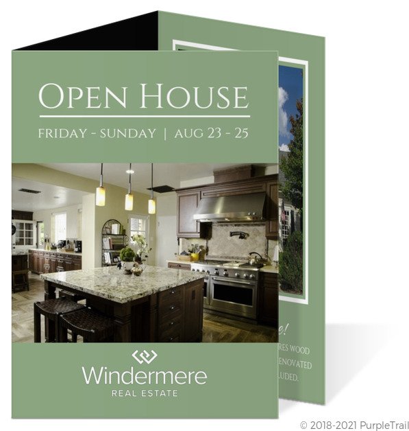 modern real estate open house invitation business open house
