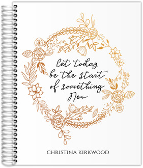 Start Of Something New Weekly Planner