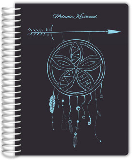 Whimsical Dream Catcher Monthly Planner