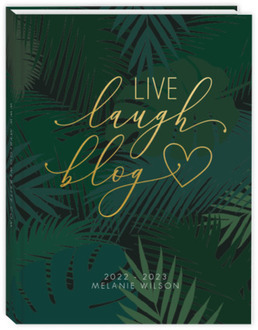 Tropical Live Laugh Blog Content Planner