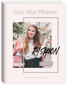 Fashion Blogger Content Planner