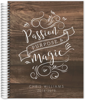 Passion Purpose Magic Weekly Planner