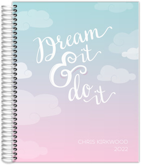 Dream It and Do It Pastel Content Planner