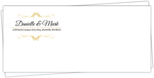 Elegant Red Winery Envelope