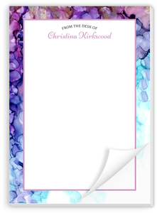 Ink Dot Pattern Custom Notepad