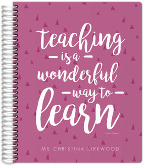 Teach and Learn Student Planner