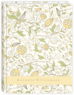 Whimsical Yellow Floral Student Planner