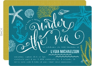 Turquoise Invitations was Elegant Ideas To Create Awesome Invitation Sample