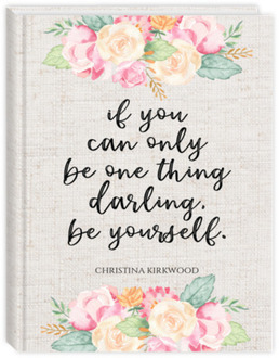 Darling Be Yourself Custom Journal