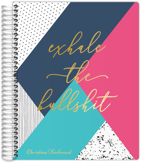 Bright Color Block Daily Planner