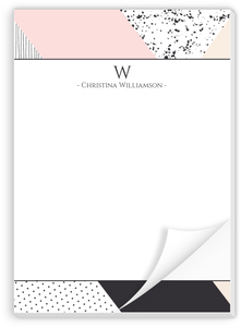 Soft Color Block Custom Notepad