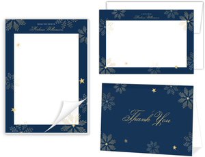 Sparkly Stars Stationery Set