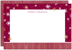 Modern Seasons Greetings Notecard