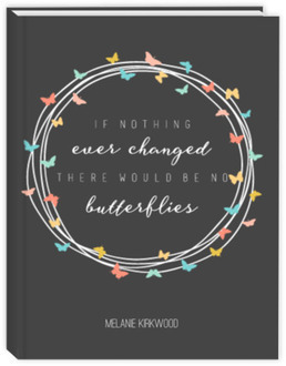 Butterfly Quote Planner Weekly Planner