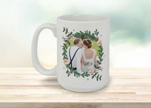 Spring Greenery Florals Coffee Mug