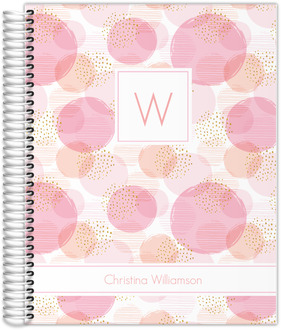 Imperfect Circle Pattern Custom Journal
