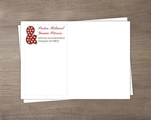 Rustic Wood Marquee Decor Full Envelope