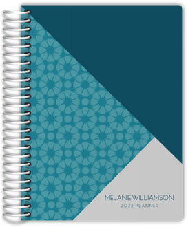 Geometric Tile Pattern Weekly Planner