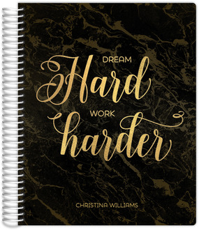 Dream Hard Monthly Planner