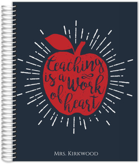 Work Of Heart Small Student Planner