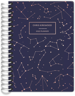Rose Gold Constellations Tiny Planner