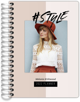 Hashtag Style Photo Tiny Planner