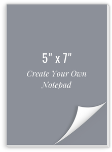 Create Your Own Notepad 5x7