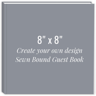 Create Your Own 8x8 Sewn Bound Guest Book