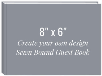 Create Your Own 8x6 Sewn Bound Guest Book