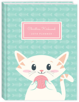Playful Kitty Weekly Planner