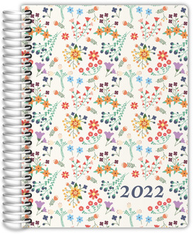 Spring Floral Print Daily Planner
