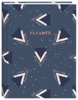 Stacked Triangle Pattern Daily Planner