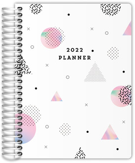 Holographic Shapes Student Planner