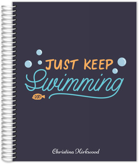 Just Keep Swimming Monthly Planner