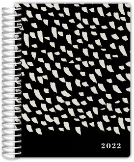 Modern Brush Pattern Custom Journal