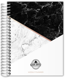Shades of Marble Daily Planner